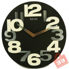 Meidi Clock Black