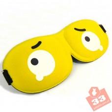 3D Глаза Yellow