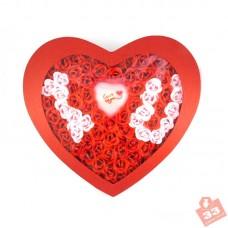 Сердце 100 Роз