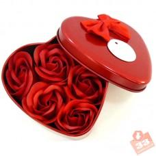 Сердце 6 Роз