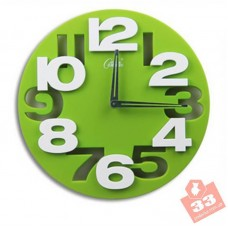 Meidi Clock Green